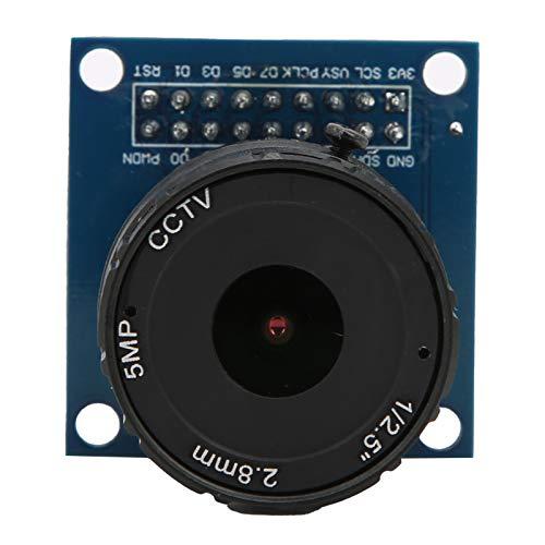 Módulo de cámara Multifuncional de 5MP, módulo de cámara Ajustable DIY OV7670 Foco de 2.8 mm