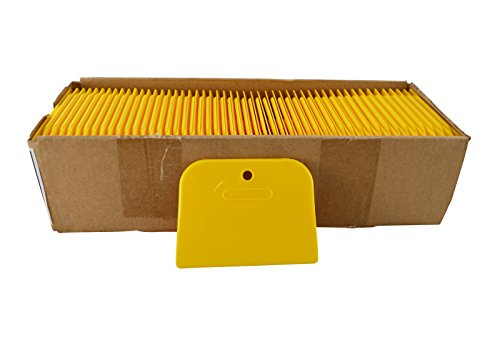 Astro Pneumatic Tool 4526 Yellow 4' Plastic Spreader, Box of 100,4 Inch
