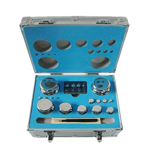 CGOLDENWALL - Juego de pesas de calibración para balanza digital, báscula de joyería y accesorios electrónicos de laboratorio