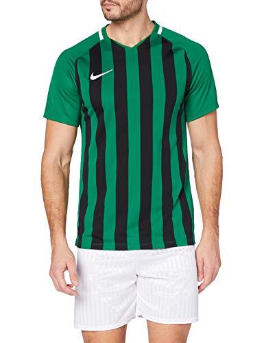 Nike Herren Striped Division III Trikot, Kiefergrün / Schwarz / Weiß, L