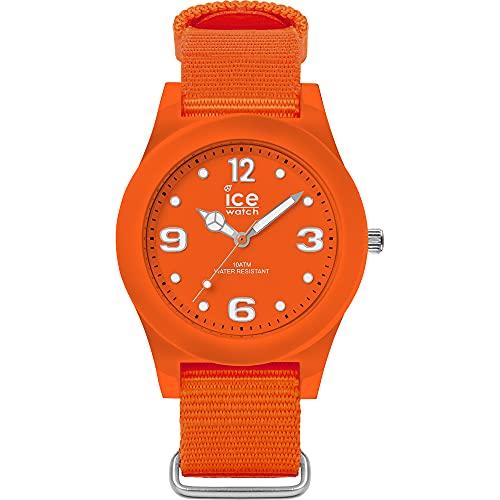 Ice-Watch Ice Slim Nature Sun Orange, Orologio Arancione Unisex con Cinturino in Nylon, 016447, Medium