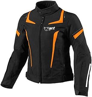 JET Chaqueta Moto Mujer Textil Impermeable con Armadura (