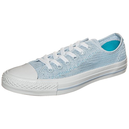 adidas Damen Chuck Taylor All Star OX Basketballschuhe, Blau (Porpoisefresh Cyanwhite Porpoisefresh Cyanwhite), 37.5 EU