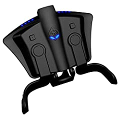 LAG FREE WIRED CONNECTION - Avoid Bluetooth interference with routers and wireless devices with a 10FT lag free connection for the competitive edge in Online Gaming and Tournaments BUILT IN CONTROLLER MODS - Literally hundreds of MOD combinations bui...