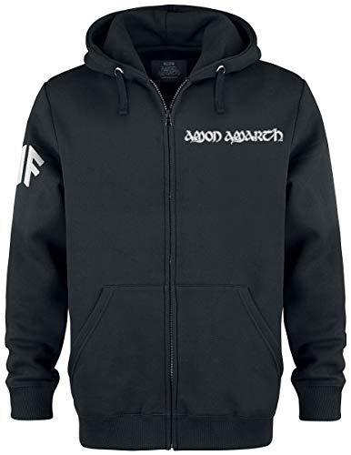 Amon Amarth Thorhammer Männer Kapuzenjacke schwarz XXL, 70% Baumwolle, 30% Polyester, Band-Merch, Bands