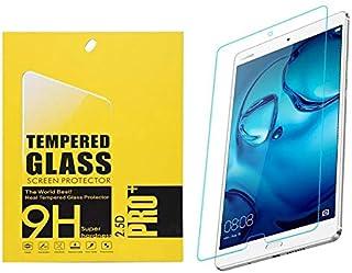 شاشة حماية زجاجية ماركة 9 اتش لجهاز هواوي ميديا باد ام 3 8.4 انش ، شفاف