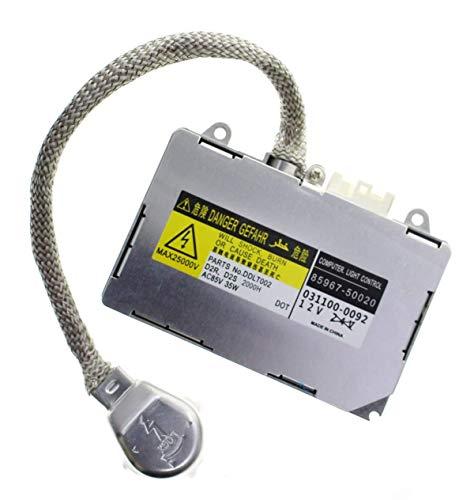 MOTOALL HID Xenon Headlight Ballast Control Unit Module for Toyota D2R D2S Bulb 85967-50020 81107-4819081