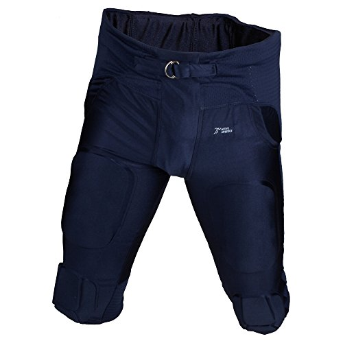 Active Athletics American Football Hose 7 Pad All in One Gamepants - Navy Gr. 3XL