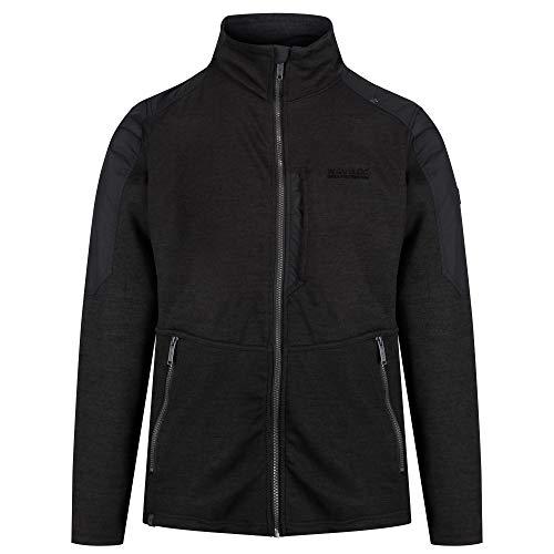 Regatta Mens Carbry 2 Layer Knit Effect Zip Fleece Jacket