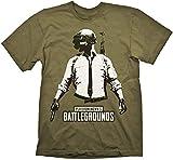 PUBG Playerunknown's Battlegrounds - Camiseta de Manga Corta para Hombre (Tallas S-XL), Color Verde Oliva Verde Oliva XL