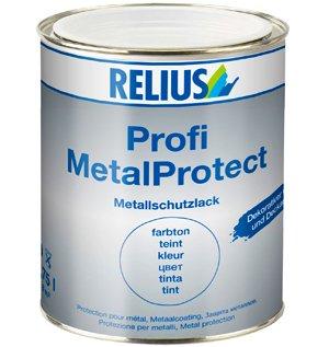 AMZN! RELIUS Profi MetalProtect (Oldosit) DB701 silbergrau 2,5 Ltr.