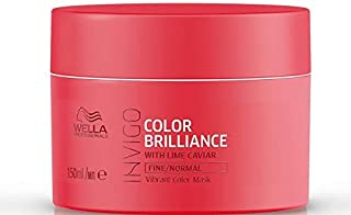 Wella Professionals Invigo Color Brilliance Mask for Fine/Normal Hair (Also Suitable for Colored Hair), 150 ml
