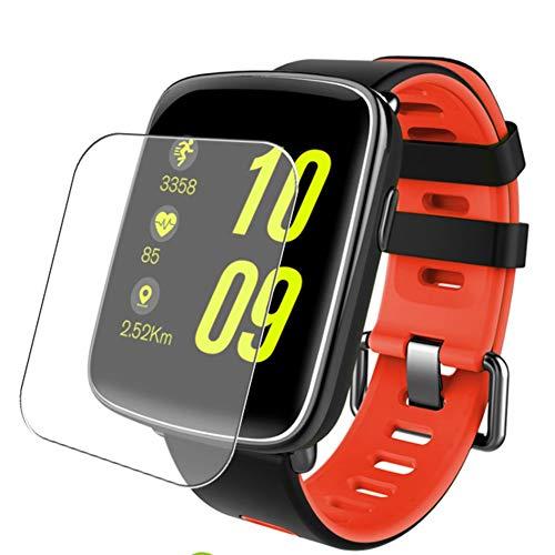 Vaxson 3 Unidades Protector de Pantalla, compatible con Smartwatch smart watch GV68 [No Vidrio Templado] TPU Película Protectora