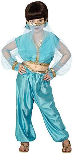 Smiffys Costume de princesse arabe, comprend pantalon, haut et coiffe
