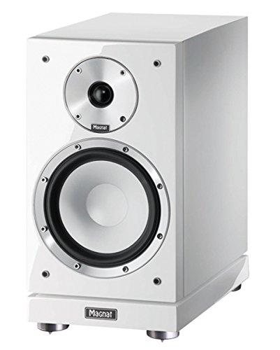 Magnat Quantum 753 180W Schwarz, Weiß - Lautsprecher (2-Wege, 1.0 Kanäle, Verkabelt, 180 W, 30-50000 Hz, Schwarz, Weiß)