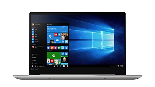 Lenovo IdeaPad 720S 35,6 cm (14,0 Zoll Full HD IPS matt) Notebook (Intel Core i7-7500U, 8GB RAM, 512GB SSD, Nvidia GeForce GT940MX 2GB, Windows 10 Home) silber