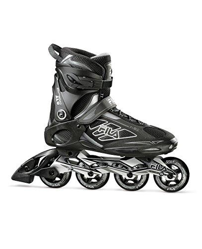 FILA Skates Primo Alu 80Inlineskates, Herren, Herren, Primo Alu 80, schwarz/grau