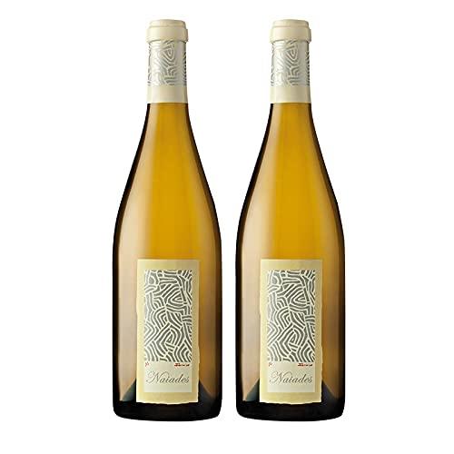 Vino Blanco Naiades Fermentado en Barrica de 75 cl - D.O. Rueda - Bodegas Naia (Pack de 2 botellas)