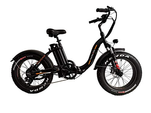 PowerMax Ebike 'Super Fast 1000W Folding ebike with High Performance 48V Lithium ion Battery. Perfect ebike for City, Beach and Mountain Rides.Most Powerful Fat Tire Foldable ebike in 2020.