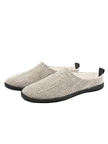 [ネルロッソ] サンダル メンズ スリッポン 靴 シューズ スニーカー 大きいサイズ オフィス カジュアル 軽量 正規品 24.5cm(39) ベージュ699 cmv24193-39-be699
