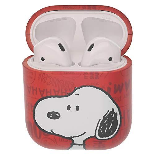 Peanuts Snoopy ピーナッツ スヌーピー AirPods と互換性があります ケース エアーポッズ用ケース 硬い スリム ハード カバー (言葉 スヌーピー) [並行輸入品]
