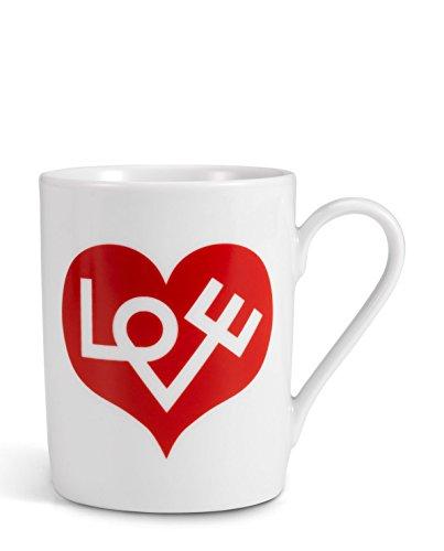 Vitra Coffee Mugs, Love Heart, red[W]