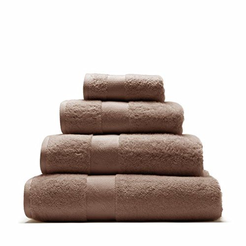 Serviette ultra douce, marron glacé, 50 x 100 cm