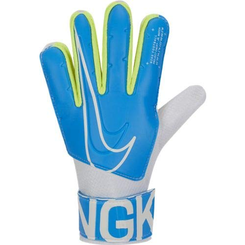 Nike Kinder NK GK Match JR-FA19 Soccer Gloves, Blue Hero/White, 7
