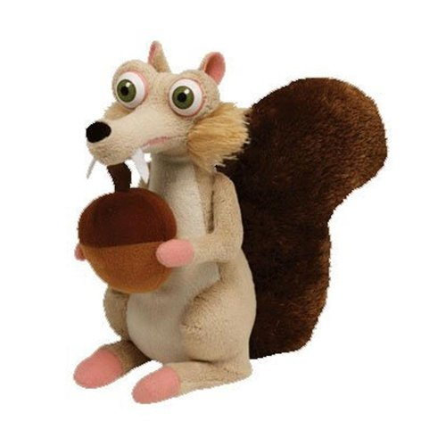 TY Beanie Baby - SCRAT the Squirrel - Ice Age