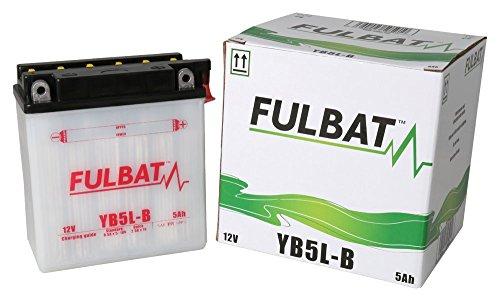 Batterie FULBAT YB5L-B 12V 5Ah 65A Longueur: 120 x Largeur: 60 x Hauteur: 130 (mm)
