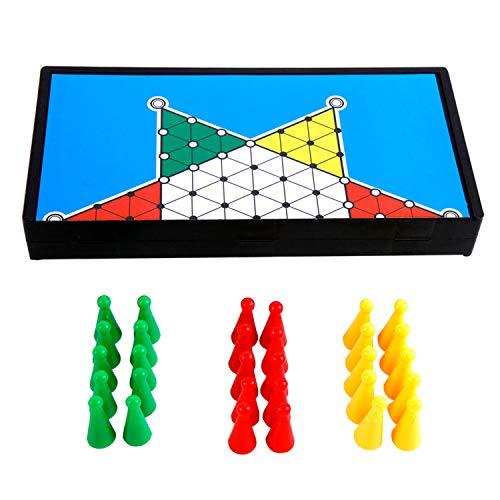 Roomando Halma Strategiespiel Brettspiel Lernspiel Reisegröße Gesellschaftsspiel