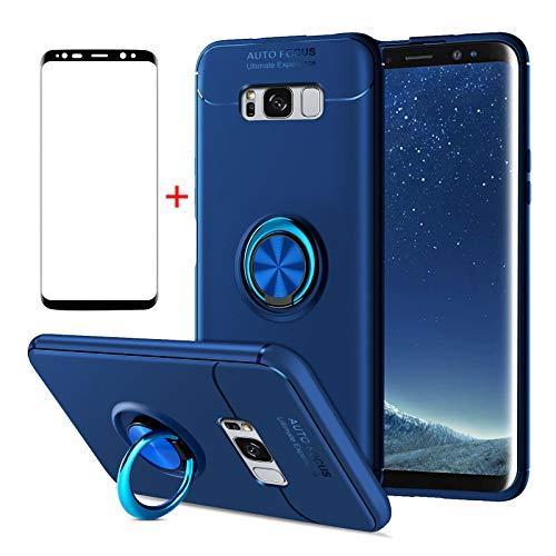 AKABEILA Funda Samsung S8 Plus, Cristal Templado Samsung S8 Plus, Compatibile con...