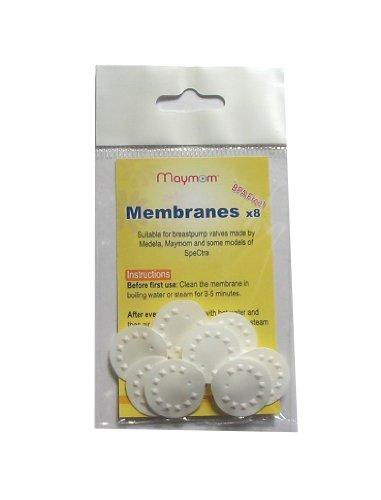 Maymom Replacement Membranes for Medela Medela Pump in Style Breastpump, Lactina, Swing and Symphony Pumps, 8-Pack by Maymom