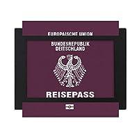 観光国ドイツ語 デスクトップフォトフレーム画像ブラックは、芸術絵画7 x 9インチ