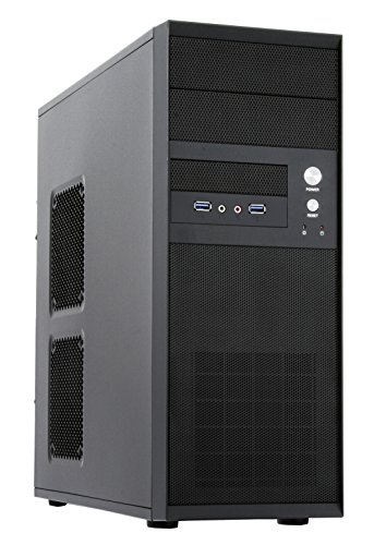 Chieftec CQ-01B-U3-OP Midi Tower Case schwarz