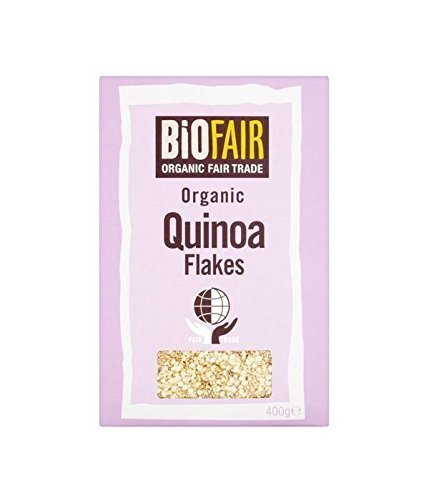 3 PACK - Biofair Organic Fairtrade PAC Flakes Las Vegas Mall 400 Max 81% OFF g Quinoa
