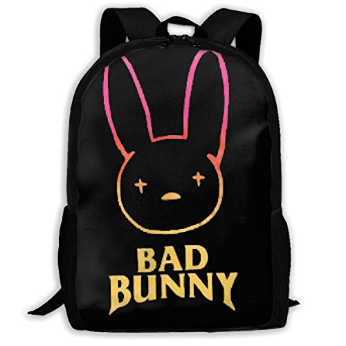 JINGS Bad Bunny Laptop Mochila, Suitable for Men and Women to Use Travel School Business Travel Bags.