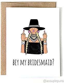Will You Be My Bridesmaid Card - BEY My Bridesmaid