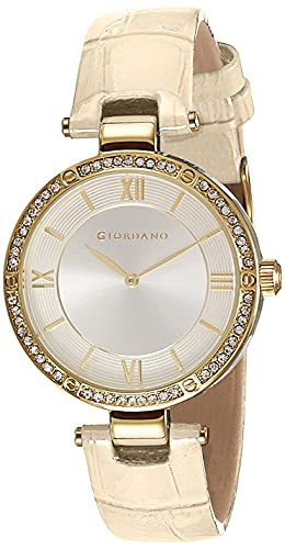 Giordano Analog Silver Dial Women's Watch - A2039-02