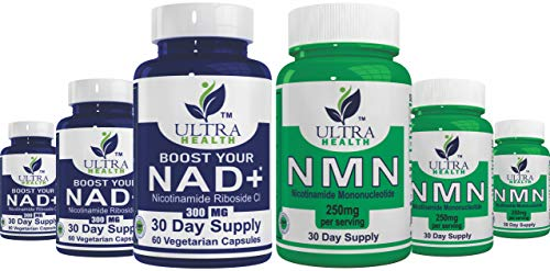 Combine NR and NMN and Your Increase NAD+ Even More! Nicotinamide Riboside and Nicotinamide Mononucleotide are Both Pharmaceutical Grades. Pair with Resveratrol, NAD+ Supplement