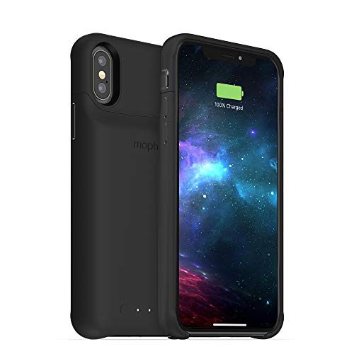 Mophie Juice Pack draadloze oplaadhoes, iPhone XS, zwart