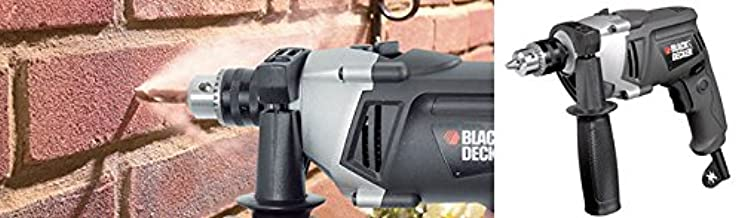 Black & Decker 620W, 3000 RPM Percussion Impact Reverse Powered Drill (13mm)