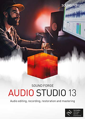 SOUND FORGE Audio Studio|13|1 Device|Perpetual License|PC|Disc|Disc