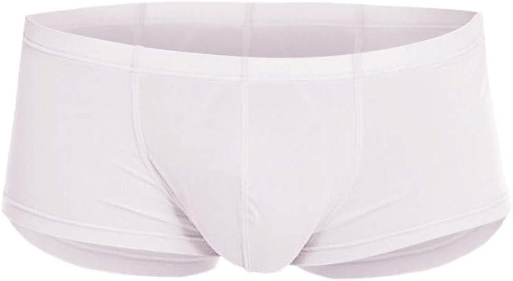 Stoota Men's Fashion Ultra-Thin Sexy ice Silk Ultra-Thin Seamless Breathable Underwear