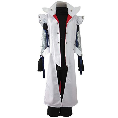 Xiao Wu Animation Character Kaiba Halloween Clothing Cosplay Costume (Male M) White
