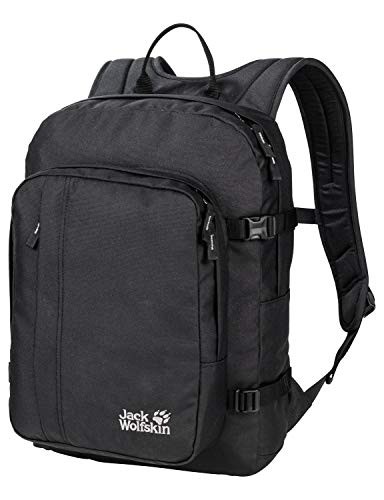 Jack Wolfskin Campus Bookpack Rucksack, Black, ONE Size