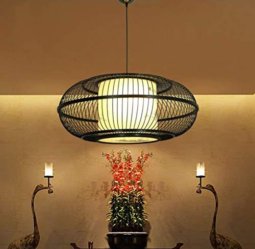 Comedor, una lampara Colgante, la luz Colgante sobre una Mesa de Comedor, lampara de Techo, Art Deco diciembre Redonda Mesa de Comedor, bambu Tejidas a Mano, la luz Colgante de Madera
