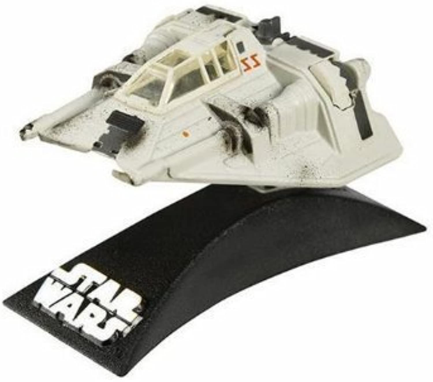 Star Wars Titanium Series Die Cast Metal Snow Speeder with Movable Action Features
