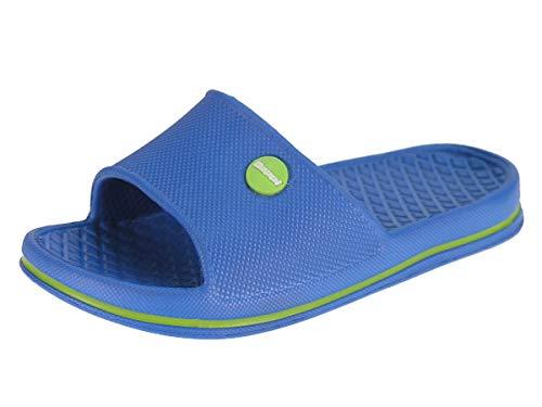 Beppi Zapatillas de Piscina (Azul, 28) Loafer Flat, blau, EU
