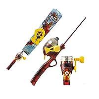 Marvel アイアンマン 幼児 児童 釣り遊び Set(Light) Kids Fishing Rod 並行輸入